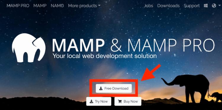 MAMP公式サイト